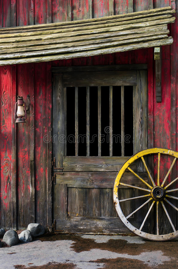 Occidental rural photographie stock
