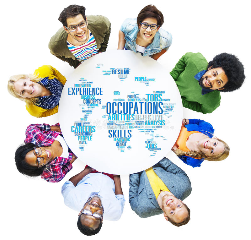 Occupation Job Careers Expertise Human Resources Concept stock images