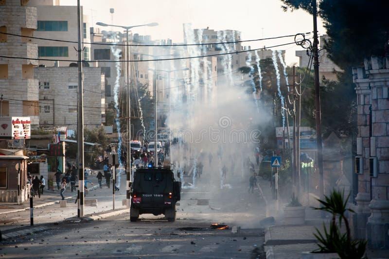 Occupazione militare israeliana a Betlemme immagine stock libera da diritti