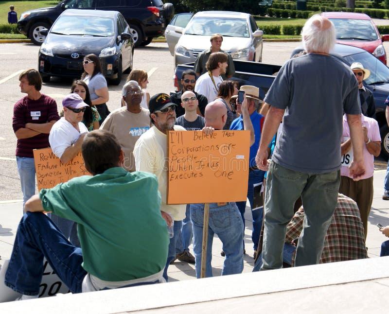 Occupez Baton Rouge photographie stock libre de droits