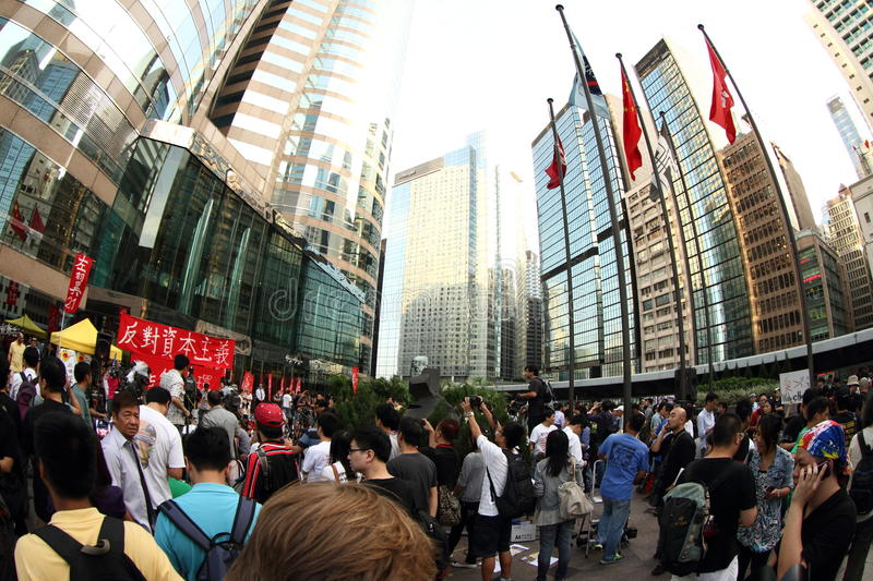 Download Occupy Hong Kong Editorial Stock Photo - Image: 21698773