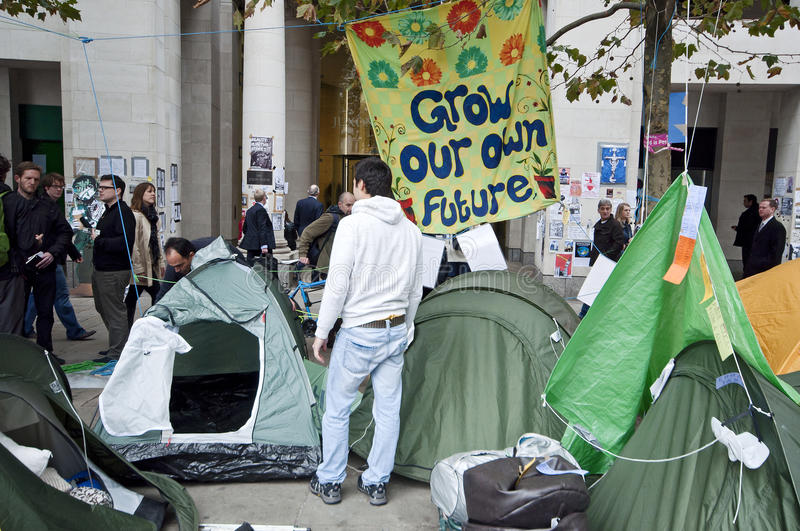 Occupy London Tent Camp