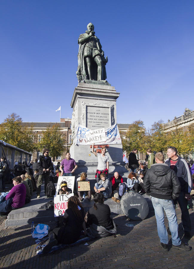 Occupy Movement royalty free stock photography