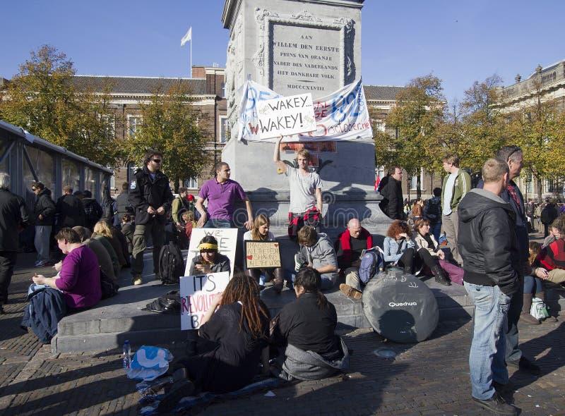 Occupy Movement stock photo