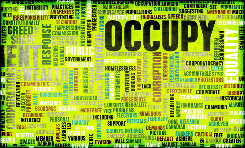 Download Occupy Movement Stock Photo - Image: 23329630