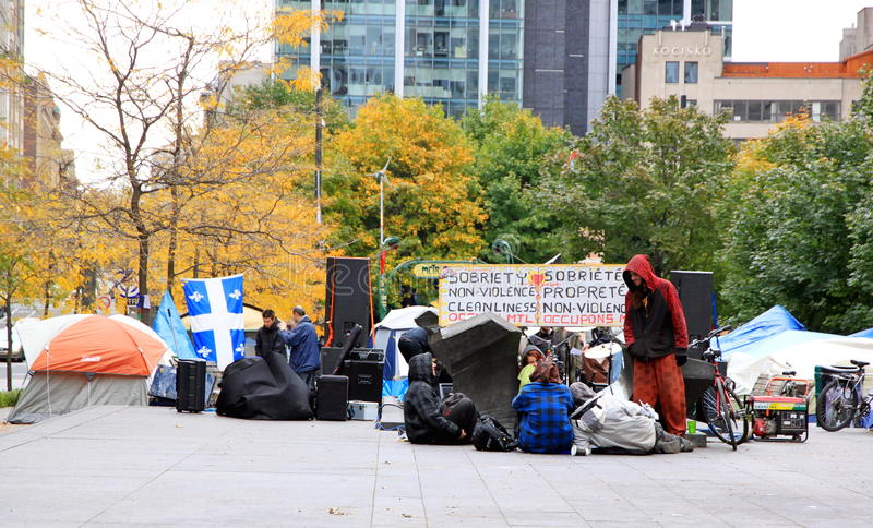Download Occupy Movement In Montreal Editorial Stock Photo - Image: 21865468