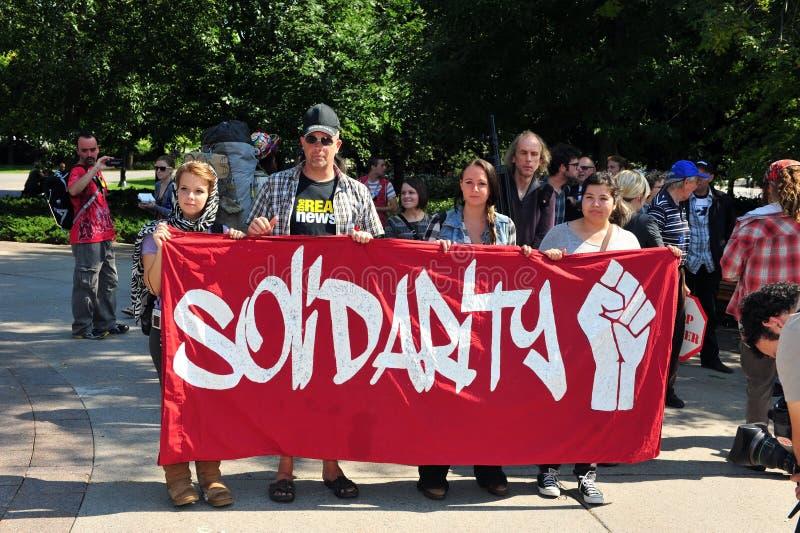 Download Occupy Protest Anniversary In Ottawa Editorial Stock Photo - Image: 26659698