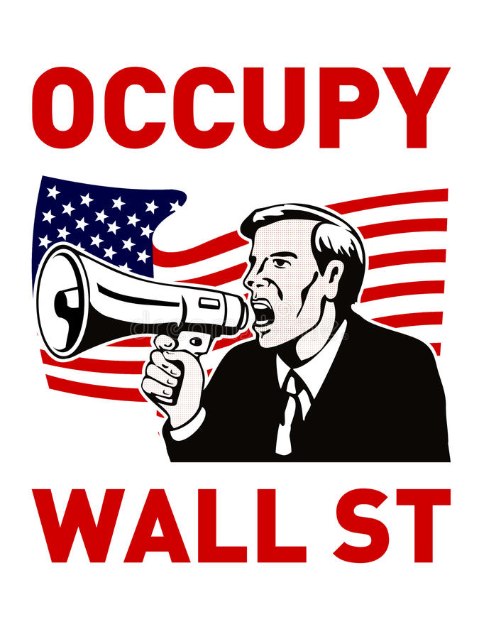 Download Occupy Wall Street American Worker Stock Illustration - Image: 21632744