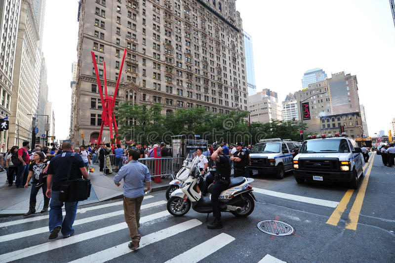 Download Occupy Wall Street Protest In Zuccotti Park Editorial Stock Photo - Image: 26660788