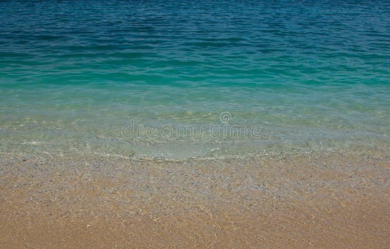 Oceaan abstracte achtergrond of textuur royalty-vrije stock foto