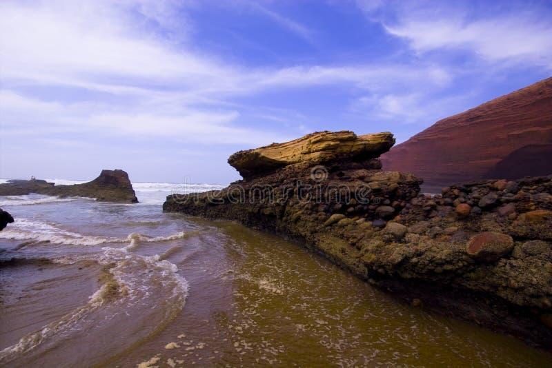 Oceaan in Arica stock foto