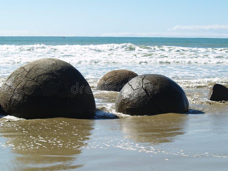 Oceaan Bolders stock fotografie
