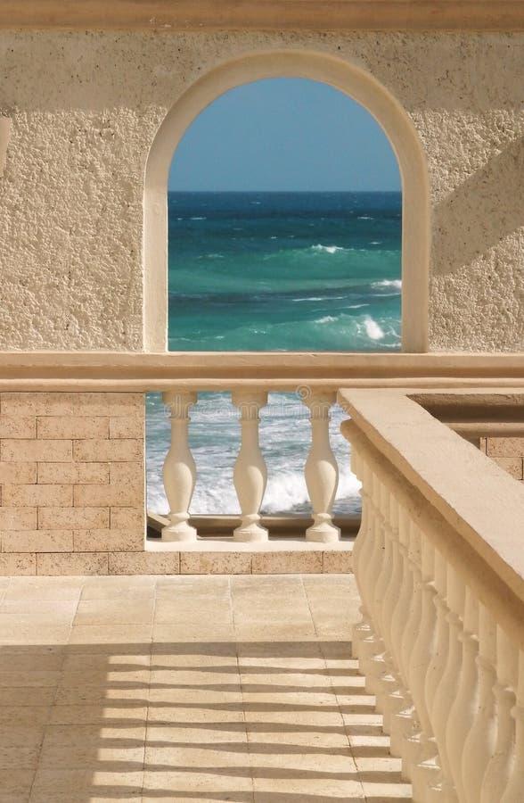 Oceaan Boog Royalty-vrije Stock Afbeelding
