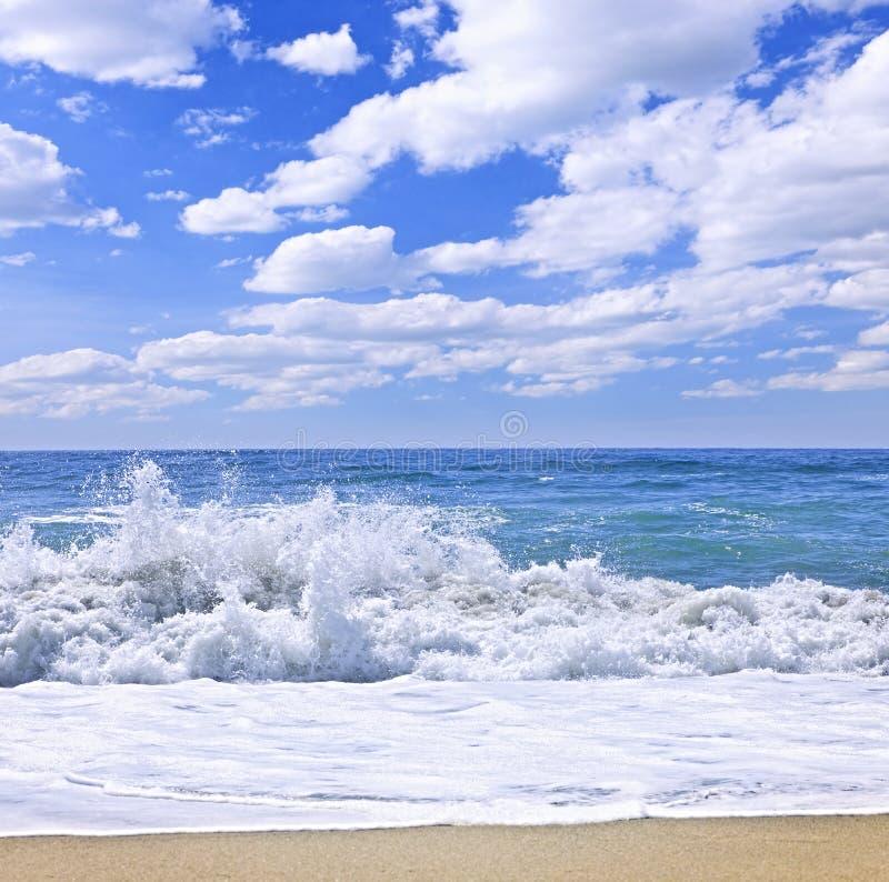 Oceaan branding stock afbeelding