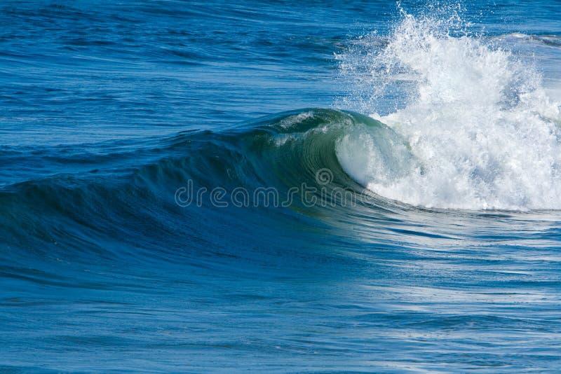 Oceaan Branding en Golven royalty-vrije stock foto