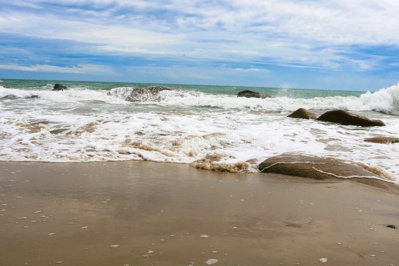 OCEAAN EN HORIZONE TOT DUSVER stock afbeeldingen