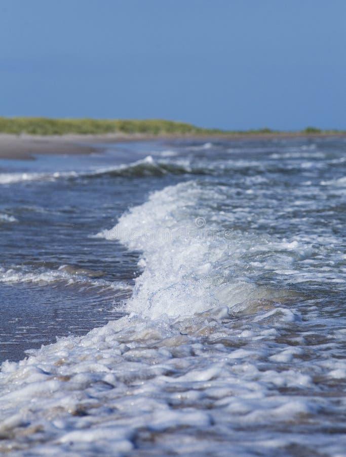 Oceaan en zand beach.GN royalty-vrije stock afbeelding