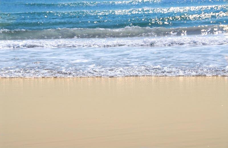 Oceaan kust royalty-vrije stock afbeeldingen