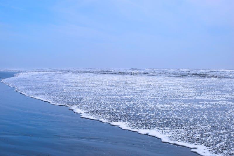 Oceaan mening. stock afbeelding