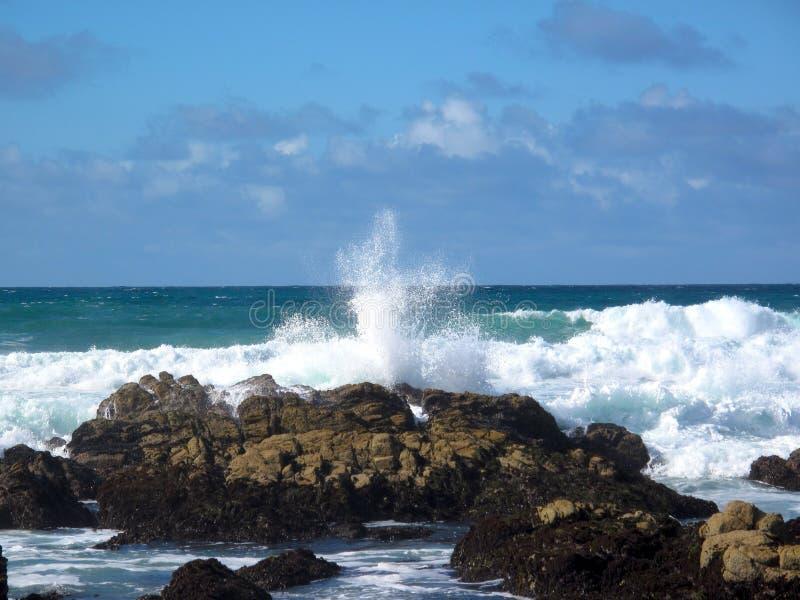 Oceaan ontploffing stock afbeelding