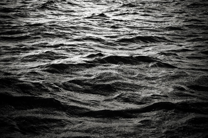 Oceaan oppervlakte royalty-vrije stock foto's