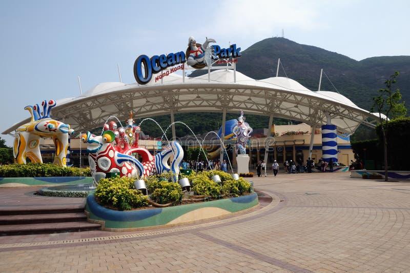 Oceaan Park Hongkong royalty-vrije stock foto's