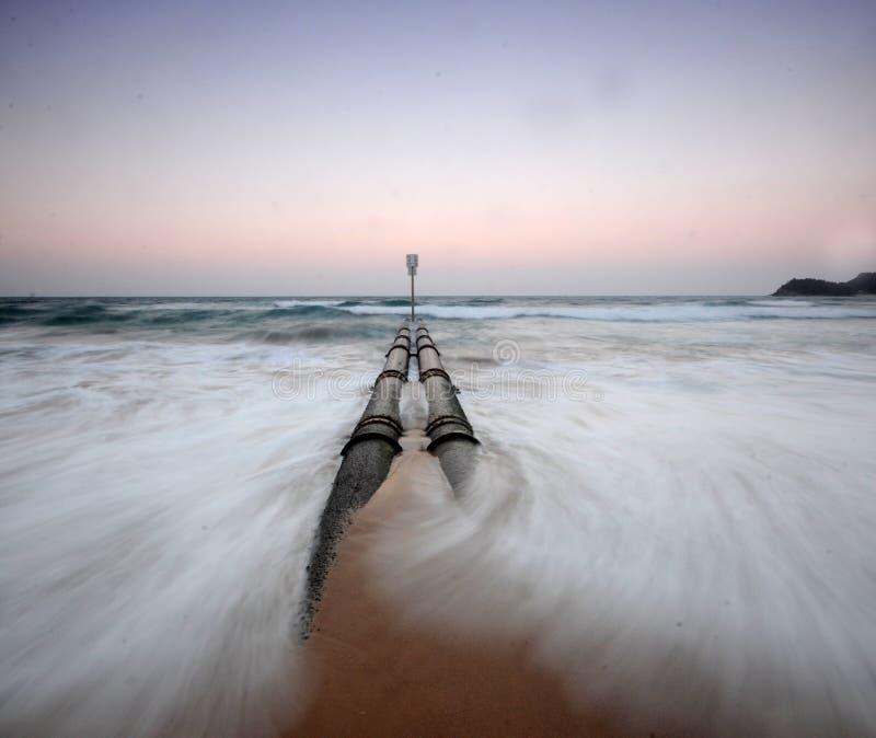 Oceaan Pijp royalty-vrije stock foto