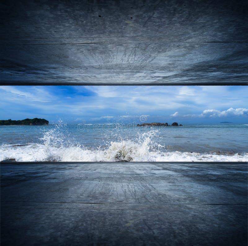 Oceaan ruimte stock foto