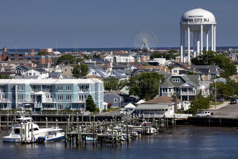 Oceaan Stad, New Jersey stock afbeeldingen