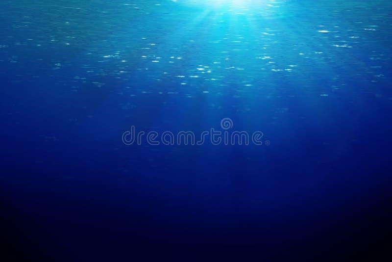 Oceaan sunbeems   royalty-vrije stock foto