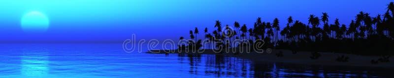 Oceaan Sunset royalty-vrije stock afbeeldingen