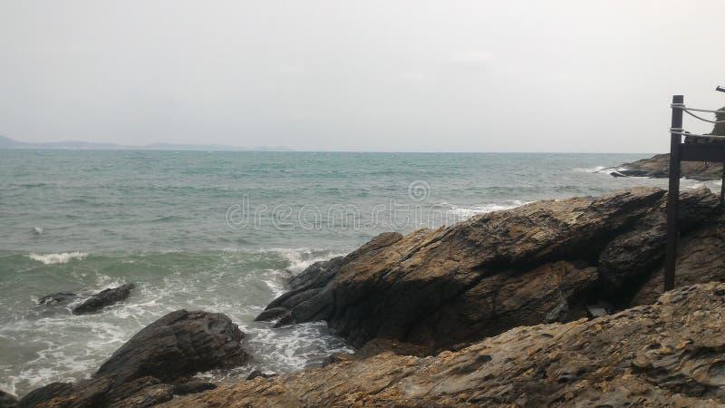 Oceaan van het nieuwe leven stock foto