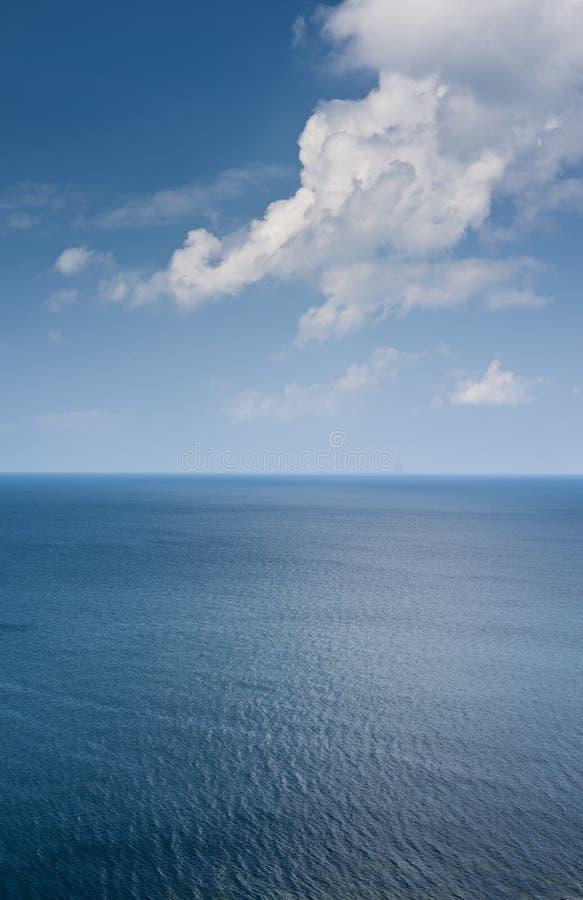 Oceaan, verticale horizon, stock afbeeldingen
