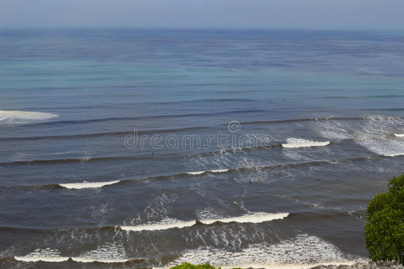 Oceaanblauw stock fotografie