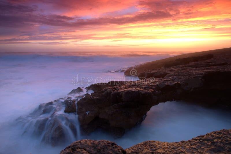 Oceaanbrug stock afbeeldingen