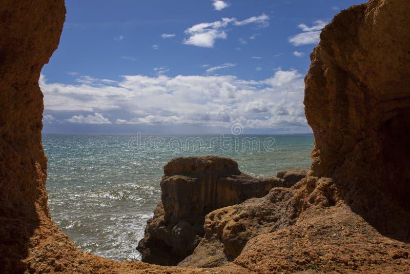Oceaanhol royalty-vrije stock fotografie
