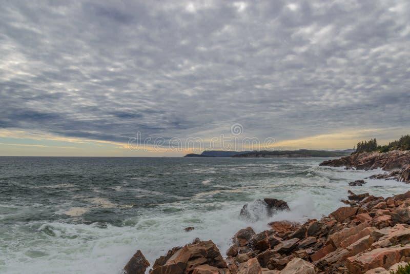 Oceaankust stock afbeeldingen