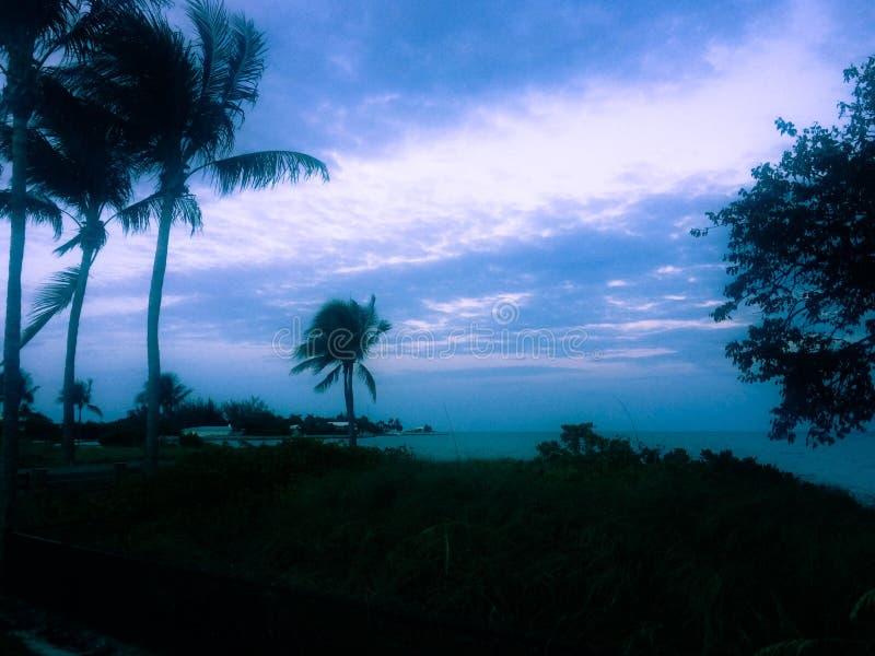 Oceaanmening van Cancun Mexico stock fotografie