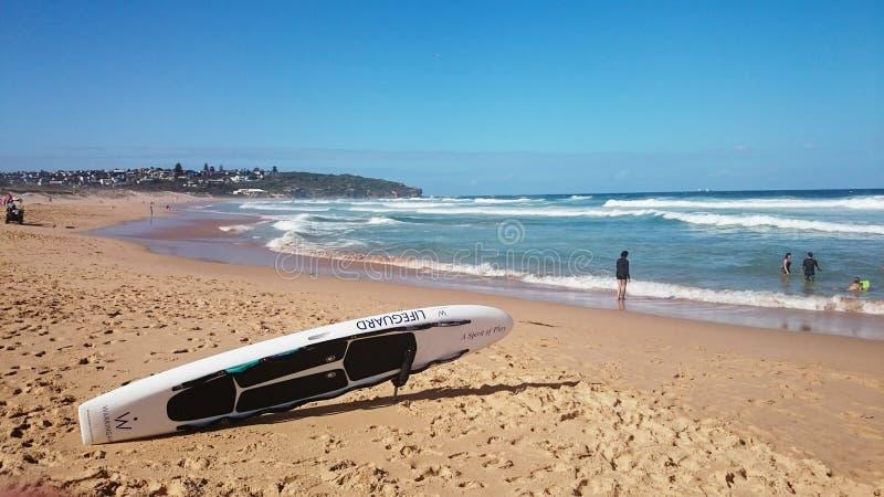 Oceaanmening @ Zoetwater, NSW Australië stock fotografie