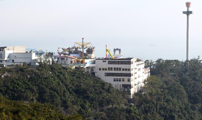 Oceaanpark in Hong Kong stock foto
