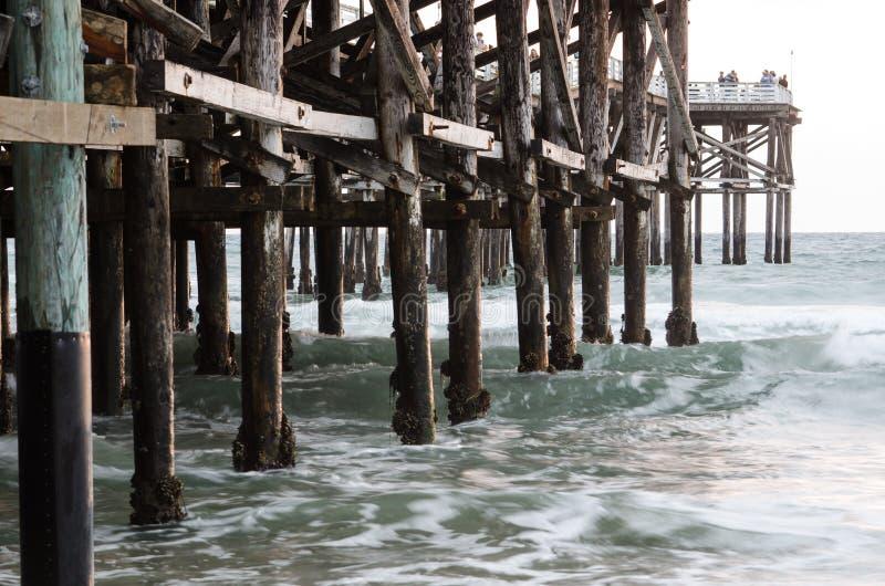 Oceaanpijler royalty-vrije stock fotografie