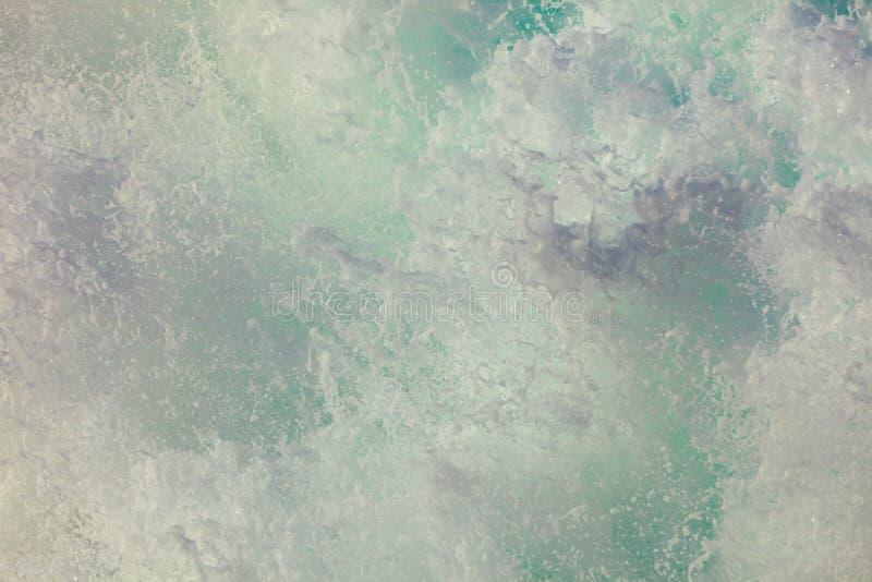 Oceaanwater abstracte achtergrond stock foto