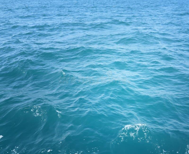 Oceaanwaterachtergrond royalty-vrije stock afbeeldingen