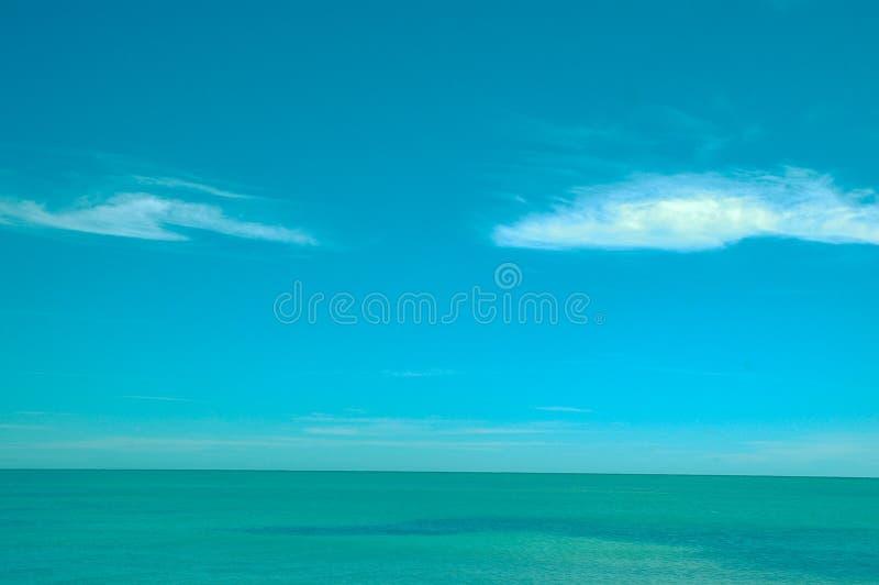 Oceaanweergave stock foto