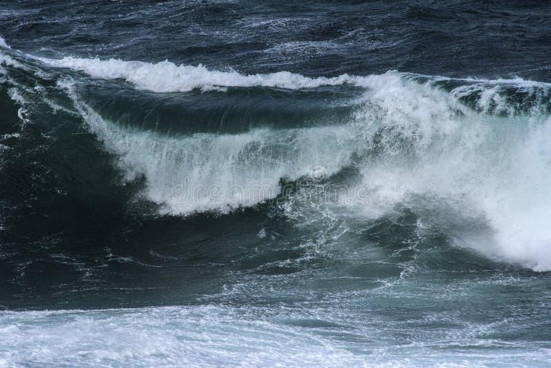 Oceaanwoede royalty-vrije stock afbeeldingen