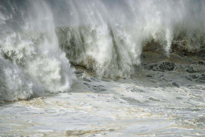 Oceaanwoede en Kracht stock foto