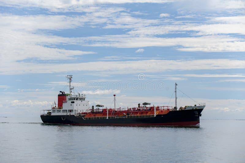 Oceaanzeemantanker royalty-vrije stock foto