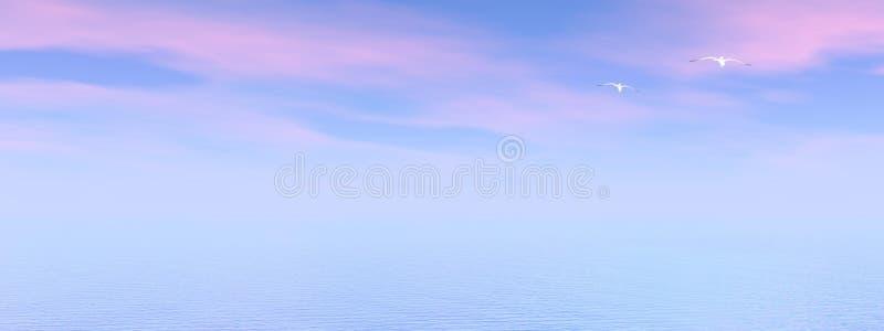 Ocean royalty free illustration