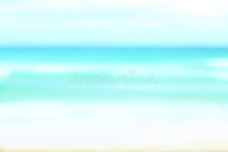 Ocean background texture. Out of focus blurry turquoise blue water background