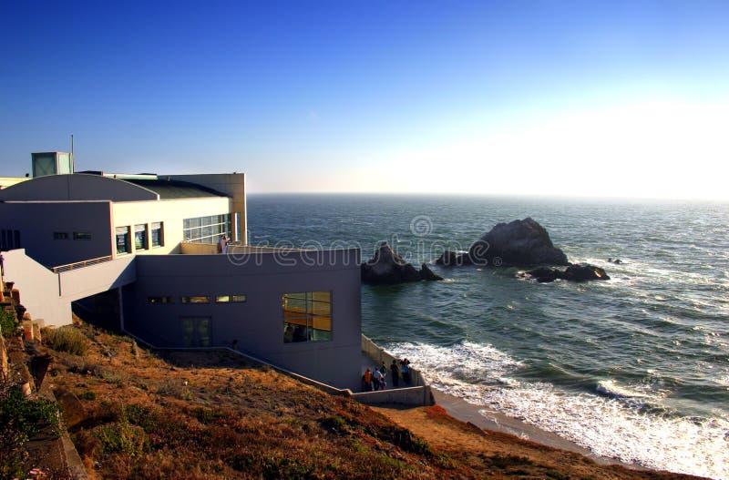 Ocean Beach, San Francisco. Ocean Beach is a beach that runs along the west coast of San Francisco, California, United States, at the Pacific Ocean stock photo